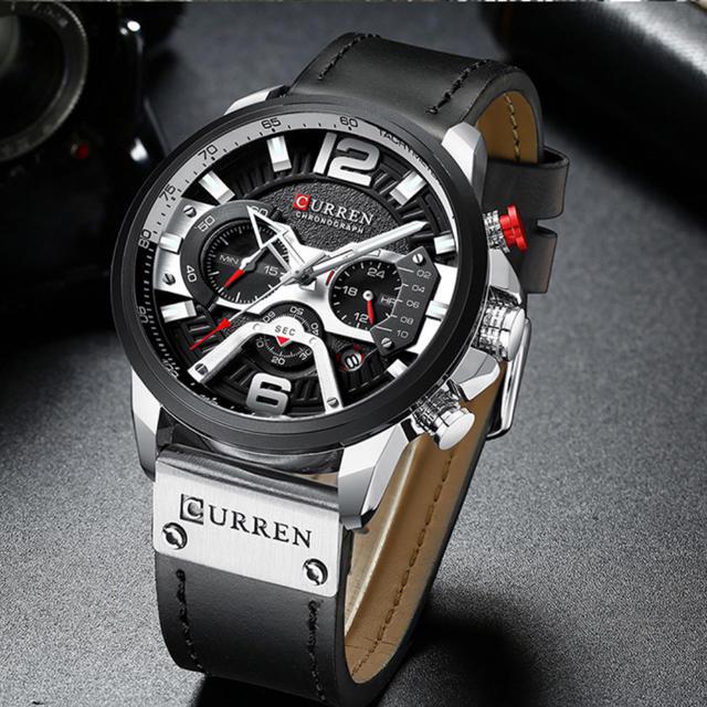 【新品/オマケ付】最新モデル カレン腕時計 日本未発売!高品質合金 レザー の通販 by まさまり(新品送料無料)'s shop|ラクマ