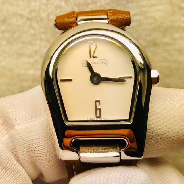 COACH - 美品 コーチ  レディース腕時計の通販 by Y1102's shop|コーチならラクマ