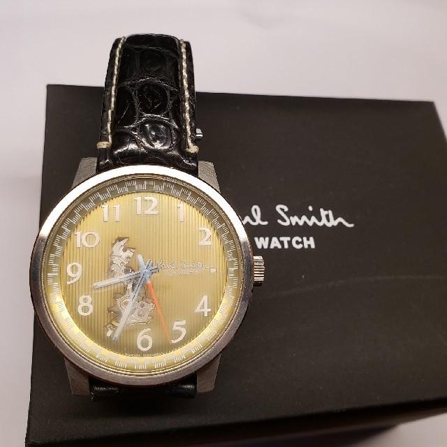 Paul Smith - マスターピース 自動巻き 腕時計 ポールスミスの通販 by ペペ|ポールスミスならラクマ