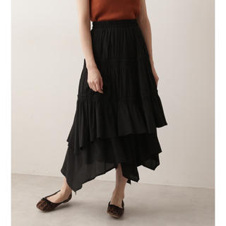 プロポーションボディドレッシング(PROPORTION BODY DRESSING)の新品♡定価10368円  アシメントリースカート BLACK or ブラウン(その他)