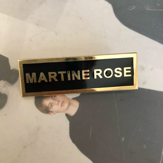 バレンシアガ(Balenciaga)のmartine rose ピンバッチ(その他)