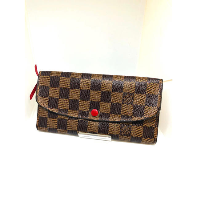 LOUIS VUITTON - LouisVuitton/ルイヴィトン ダミエ エミリー長財布 美品 正規品の通販 by J's shop|ルイヴィトンならラクマ
