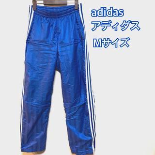 アディダス(adidas)のアディダス ナイロンパンツ シャカパン 厚手 青 M(その他)