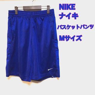 ナイキ(NIKE)のナイキ メンズ バスケットパンツ バスパン 薄手 青 M(バスケットボール)