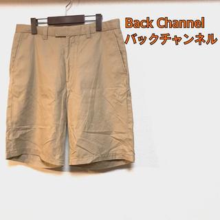 バックチャンネル(Back Channel)のバックチャンネル ハーフパンツ ベージュ M(ショートパンツ)