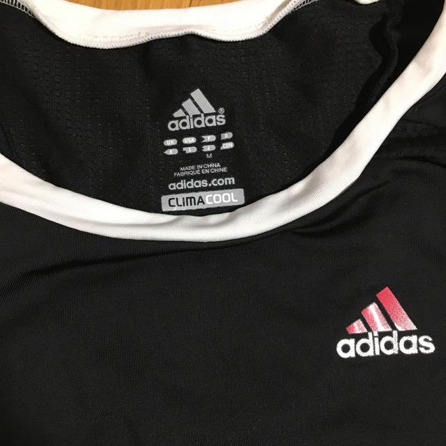 adidas(アディダス)のアディダス  レディース  トップス M  トレーニング ブラック スポーツ/アウトドアのトレーニング/エクササイズ(その他)の商品写真