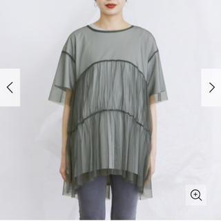 ケービーエフ(KBF)の新品!KBF チュールドッキングTシャツ(Tシャツ/カットソー)