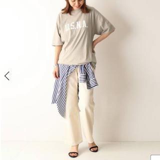 フレームワーク(FRAMeWORK)の完売❗️ フレームワーク購入 USNAロゴTシャツ(Tシャツ(半袖/袖なし))