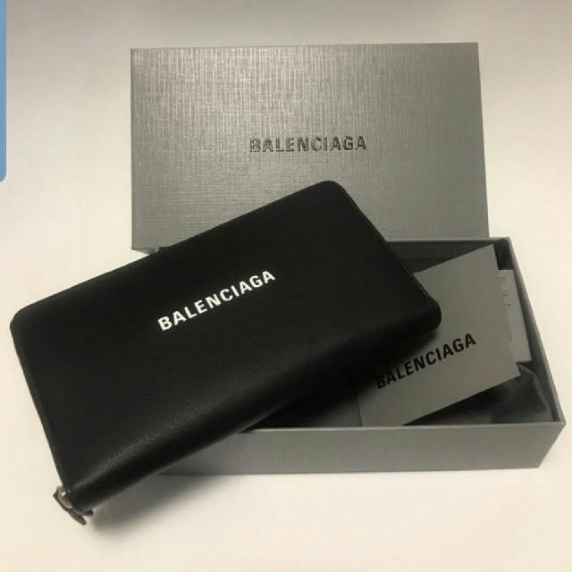 Balenciaga - BALENCIAGAエブリデイラウンドジップロゴジップアラウンド長財布の通販 by 。yoshiharu。's shop|バレンシアガならラクマ