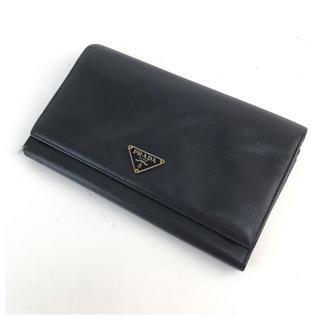 PRADA - ❤️セール❤️ プラダ PRADA 二つ折り長財布 レディース ブラックの通販|ラクマ
