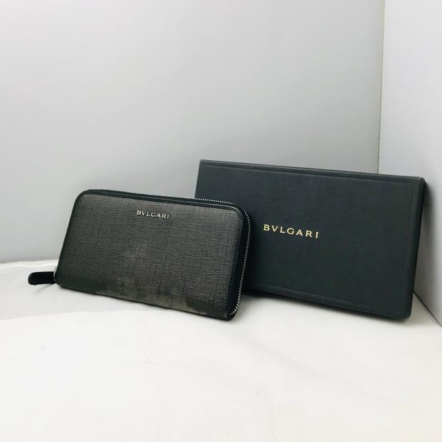 BVLGARI - ☆特別価格☆ BVLGARI ブルガリ ラウンドファスナー 長財布の通販 by ゆぅ's shop|ブルガリならラクマ