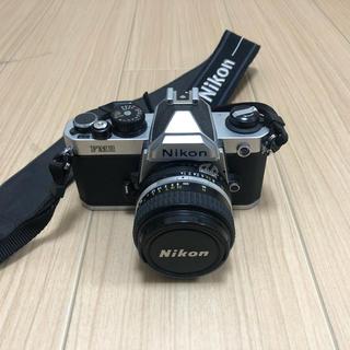 ニコン(Nikon)のnikon new fm2(フィルムカメラ)