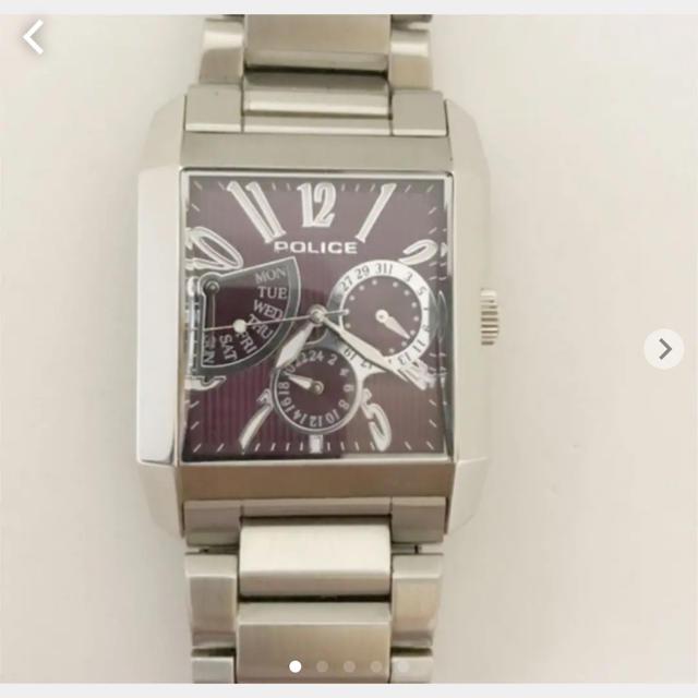 POLICE - 美品ポリス  クロノグラフ 腕時計の通販 by しま's shop|ポリスならラクマ