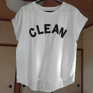 ディニテコリエ定番ロゴTシャツ■3回程度着用(Tシャツ(半袖/袖なし))