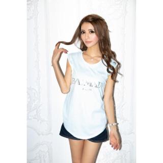 バルマン(BALMAIN)の新品未使用♡BALMAIN♡コットン Tシャツ Balmain ロゴプリント(Tシャツ(半袖/袖なし))