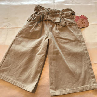 ◆新品タグ付き◆厚手◆薄いグレーワイドパンツ◆大人デザイン♡(パンツ/スパッツ)