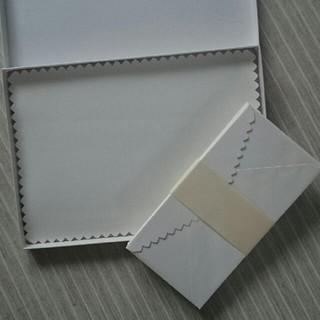 優雅な白のレターセット(カード/レター/ラッピング)