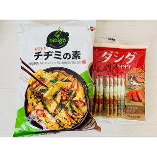 コストコ(コストコ)の韓国料理★チヂミの素 ダシダ セットだしの素(調味料)