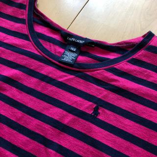 ラルフローレン(Ralph Lauren)のラルフローレン ベルト付きワンピース チュニック   150(ワンピース)