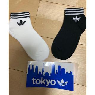 アディダス(adidas)のアディダス オリジナル アンクル ソックス 靴下 22〜24cm(ソックス)