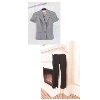 セオリー(theory)の秋のビジネスセット♡ マイケルコースのジャケットとセオリーの美脚パンツ(セット/コーデ)