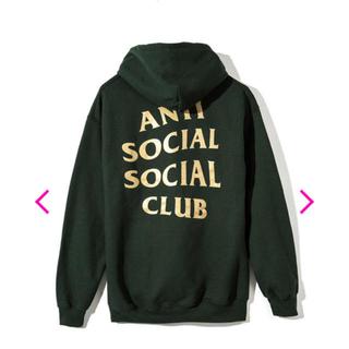 アンチ(ANTI)のanti social social club hoody(パーカー)
