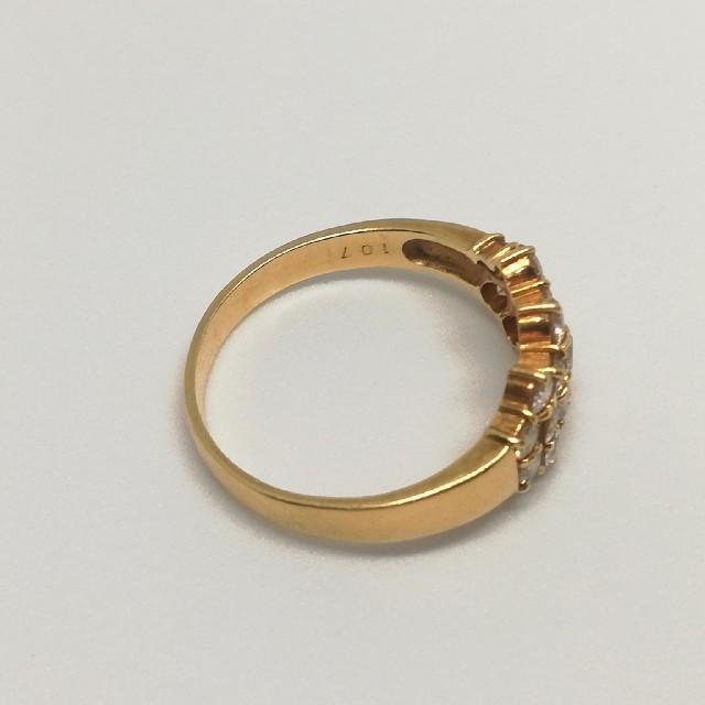 豪華 K18 1.07ct ダイヤモンド リング 20号 レディースのアクセサリー(リング(指輪))の商品写真