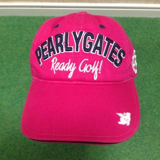 パーリーゲイツ(PEARLY GATES)のPEARYGATES CAP レディース用 パリーゲイツ 帽子(キャップ)