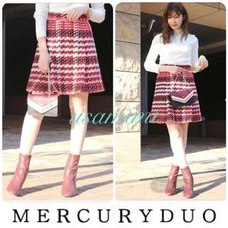 MERCURYDUO - 【新品】マーキュリーデュオ ツイードスカート
