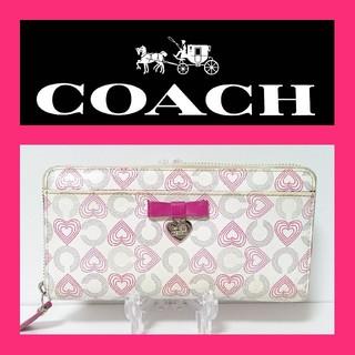 COACH - 【NN】COACH 長財布の通販|ラクマ