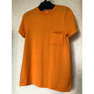 ミラオーウェン(Mila Owen)のミラオーウェン ウール 半袖ニット オレンジ(カットソー(半袖/袖なし))