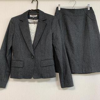 ナチュラルビューティーベーシック(NATURAL BEAUTY BASIC)のスカートスーツ 秋冬物(スーツ)