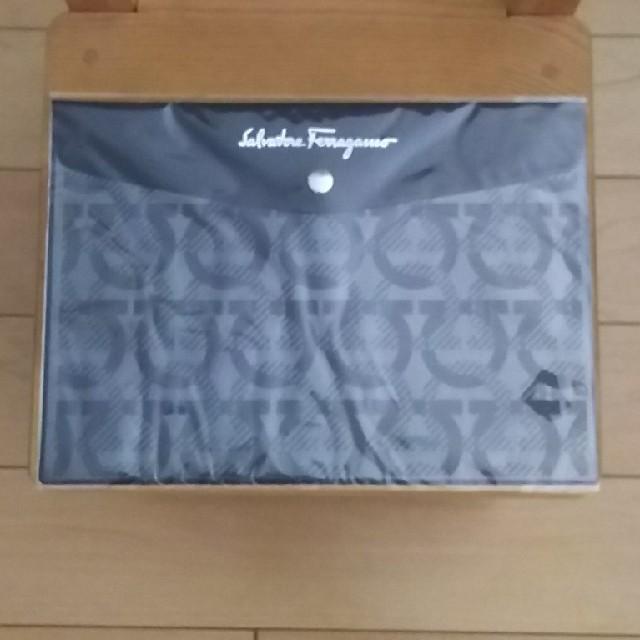 Salvatore Ferragamo(サルヴァトーレフェラガモ)のフェラガモ ドキュメントケース メンズのバッグ(セカンドバッグ/クラッチバッグ)の商品写真