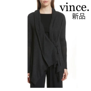 ビンス(Vince)の新品・未使用・タグ付き✨VINCE ヴィンス カーディガン (カーディガン)