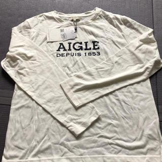 エーグル(AIGLE)のAIGLE. 長袖Tシャツ Lサイズ これからの時期に!(Tシャツ/カットソー(七分/長袖))