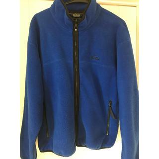 ウールリッチ(WOOLRICH)のWOOLRICH POLARTEC フリースジャケット ブルー(ブルゾン)