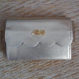アーカー(AHKAH)の☆AHKAH ミニ財布☆ 新品未使用(財布)