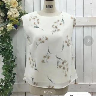 ノエラ(Noela)のNoela❤︎花柄ブラウス(シャツ/ブラウス(半袖/袖なし))