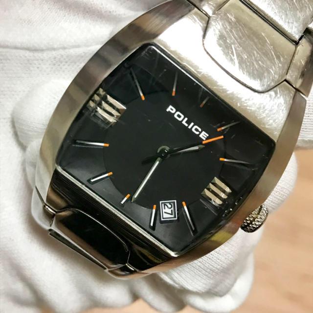POLICE - メンズ 腕時計 police アナログの通販 by わんわん's shop|ポリスならラクマ