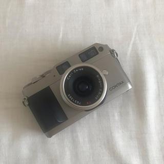 キョウセラ(京セラ)のCONTAX G1 Biogon2.8/28mm T* ROM改造済み(フィルムカメラ)