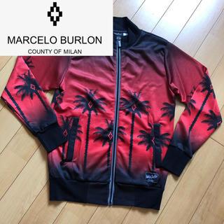 マルセロブロン(MARCELO BURLON)のmarcelo burlon マルセロバーロン レッド ma1(フライトジャケット)