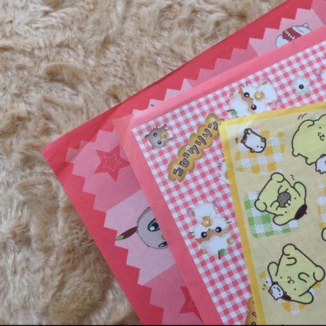 サンリオ(サンリオ)の折り紙 キッズ/ベビー/マタニティのおもちゃ(知育玩具)の商品写真