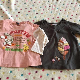 ベリーズベリー(BERRY'S BERRY)のガールズ長袖トップスセット☆90センチ(Tシャツ/カットソー)