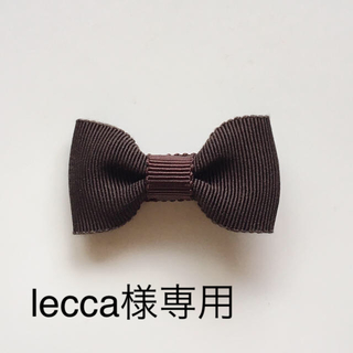 ボンポワン(Bonpoint)のlecca様専用!木馬リボン、ヘアクリップ♡ベビー、キッズ(ファッション雑貨)