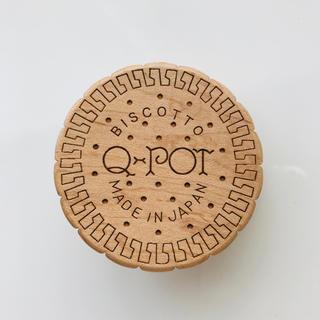 キューポット(Q-pot.)のQ-pot.  ビスケット コードリール クリップブローチ(ブローチ/コサージュ)