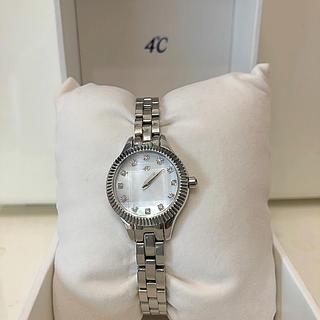 ヨンドシー(4℃)の4℃  未使用時計(腕時計)