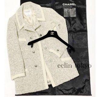 シャネル(CHANEL)のシャネル ミックスツイード ジャケット コート 38 E1023(テーラードジャケット)
