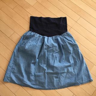 ムジルシリョウヒン(MUJI (無印良品))の無印良品 マタニティスカート MLサイズ(マタニティウェア)