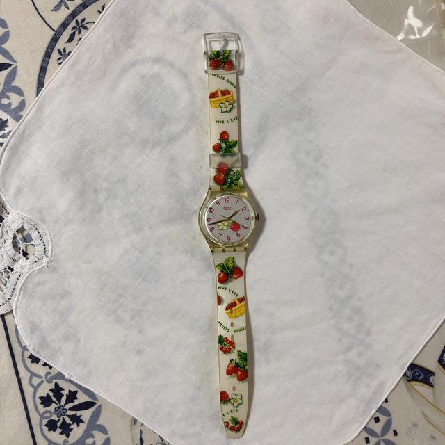 swatch - スウォッチ swatch イチゴ&ラズベリー 腕時計 作動中の通販 by ココナッツshop|スウォッチならラクマ