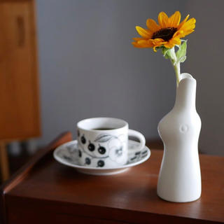 イッタラ(iittala)の鹿児島睦 花器 陶器 北欧 雑貨(花瓶)